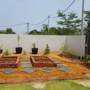 Completed Kitchen Garden